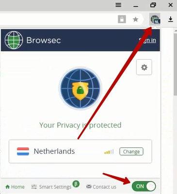 подключение через нидерланды